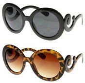 Image of Whimsical Swirl Arm Sunglasses [SEE ALL COLORS]