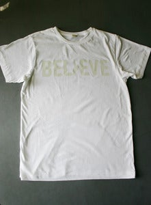 Image of Men's White Believe T