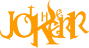 Image of The Jokerr Text Logo Vinyl (Orange)