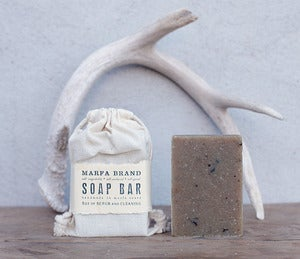 Image of Campfire Soap with Lapsang Souchong Tea