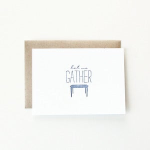 Image of Let Us Gather Note Card