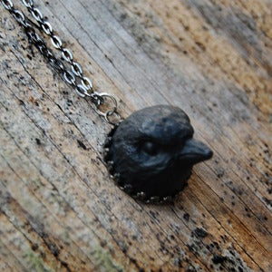 Image of Small Bird Head Necklace