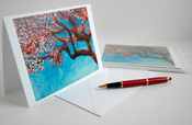 Image of Cherry Tree Fine Art Greeting Cards--Set of 6