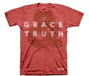 Image of Grace &amp; Truth Tee - Red