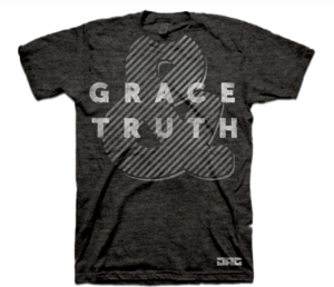 Image of Grace &amp; Truth Tee - Black