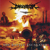 Image of DISASTER &quot;The Battle Escalates&quot; CD