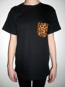 Image of Luxe Leopard Pocket Tee