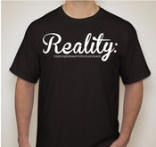 Image of Art:Above:Reality - Cursive Tee