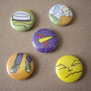 Image of Biff button pack