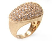 Image of Kara Ackerman <i> Talulah <i/> Brooke Pave Bean Cocktail Ring