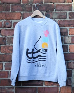 Image of Sun & Sail | Grey Sweatshirt