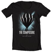 Image of The Composure<br>'Stay The Course'<br>T-Shirt (Black)