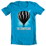 Image of The Composure<br>'Stay The Course'<br>T-Shirt (Turquoise)