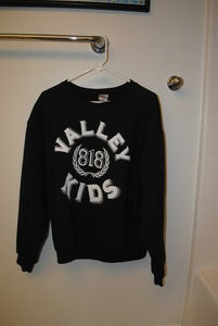 Image of Valley Kids Crewneck Black
