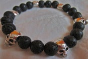 Image of Skull Beaded Bracelet