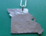 Image of Missouri State Necklace