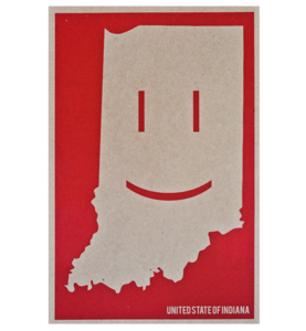 Image of Smiling Indiana Poster