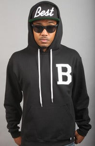 Image of BEST Hoodie Black Back