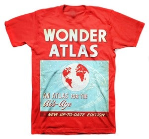Image of ATLAS tee shirt