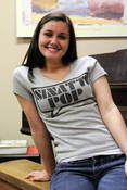 Image of SP Word Bubble - Girls V-Neck Shirt