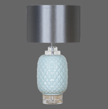 Image of Blue Pineapple Lamp