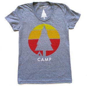Image of Camp T-Shirt and Tank Top