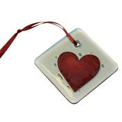 Image of Red Heart Small Hanging