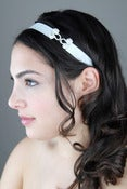 Image of Frog Closure Rhinestone Headband