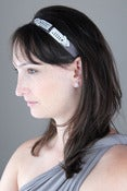 Image of Deco Rhinestone Headband