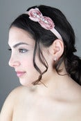 Image of Tea Stained Rose Headband