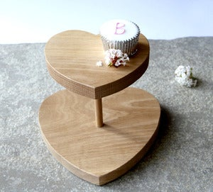Image of Oak Cake Stand