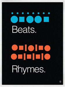 Image of Beats &amp; Rhymes Print
