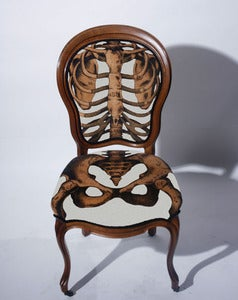 Image of Sam Edkins: Anatomically Correct Chair White