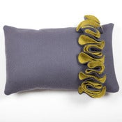 Image of Lorna Syson: Ruffle Cushion Acorn