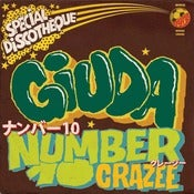 "Image of Giuda ""Number 10"" 7"" (2nd press)"