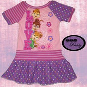 Image of **SOLD OUT** Chipmunks Chipettes Love Pink Dress - Size 3T/4T
