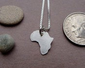 Image of Tiny Africa Necklace