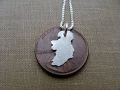 Image of Tiny Ireland Necklace