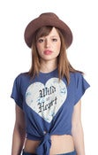 "Image of Wildfox ""Wild At Heart"" in Navy"