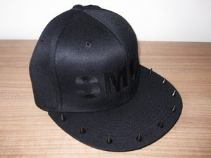 Image of SMU† studded cap black