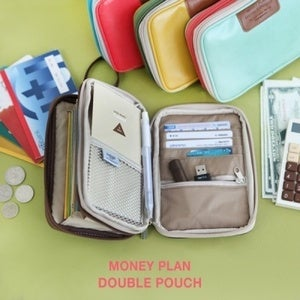 Image of Money plan double pouch