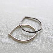 Image of Teardrop Stacking Ring Set