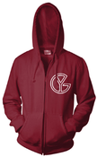 Image of YG Big Mama Maroon Hoody
