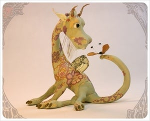 Image of SOLD! - Dragon & Butterfly