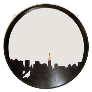 Image of Record Cityscape Mirror