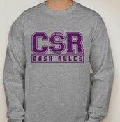 Image of Cash Rules Uni Sex Crew Neck
