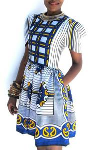Image of The 'NURU' Sleeve Dress (White)