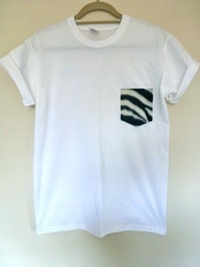 Image of Zebra Pocket Effect Tshirt