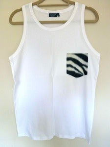 Image of Zebra Pocket Effect Vest