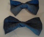 Image of Denim Bows-SMALL BOW available only